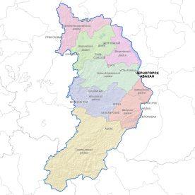 Публичная кадастровая карта республики Хакасия
