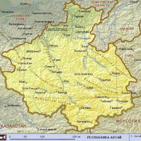Публичная кадастровая карта Республики Алтай