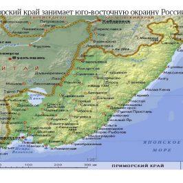 Публичная кадастровая карта Приморского края