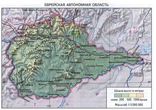 Публичная кадастровая карта Еврейской автономной области