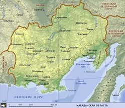 Публичная кадастровая карта Магаданской области