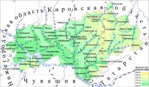граничит с Нижегородской