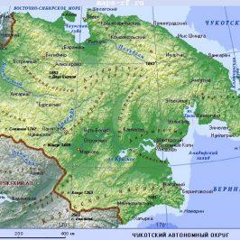 Публичная кадастровая карта Чукотского автономного округа