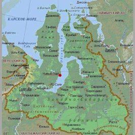 Публичная кадастровая карта Ямало-Ненецкого автономного округа