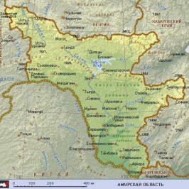 Публичная кадастровая карта Амурской области
