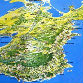 Публичная кадастровая карта республики Крым