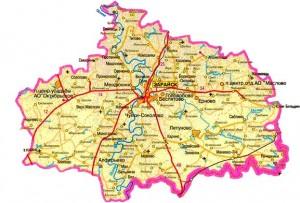 Публичная кадастровая карта Зарайский район