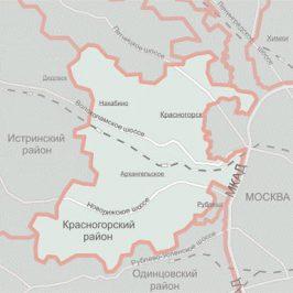 Публичная кадастровая карта Красногорский район