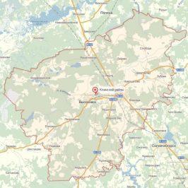 Публичная кадастровая карта Клинский район