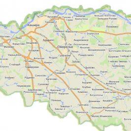 Публичная кадастровая карта Каширский район