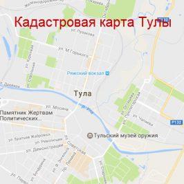 Публичная кадастровая карта Тула