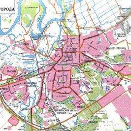Публичная кадастровая карта Рязань