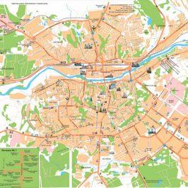 Публичная кадастровая карта Смоленск
