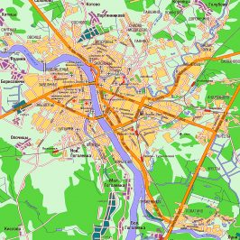Публичная кадастровая карта город Псков