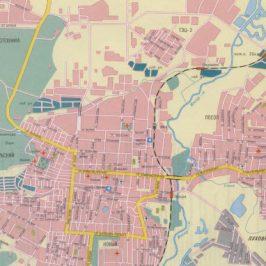 Публичная кадастровая карта Саранск