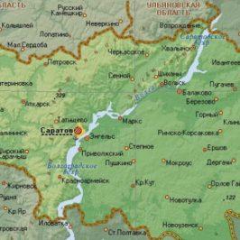 Кадастровая карта публичная Саратов