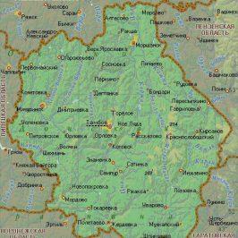 Публичная кадастровая карта Тамбов