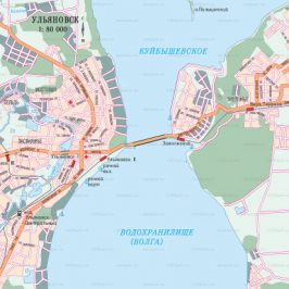 Публичная кадастровая карта Ульяновск