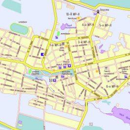 Публичная кадастровая карта Элиста