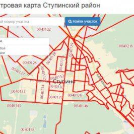 Публичная кадастровая карта Ступинский район (Московская область)