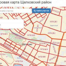 Публичная кадастровая карта Щелковский район (Московская область)