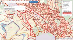 Публичная кадастровая карта города Жуковский