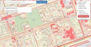 Публичная кадастровая карта города Реутов