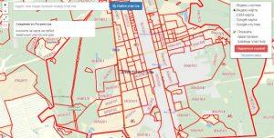 Публичная кадастровая карта города Электросталь